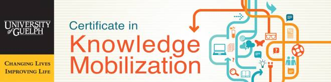 Banner for the Certificate in Knowledge Mobilization.